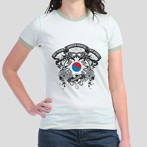 South Korea Soccer Jr. Ringer T-Shirt