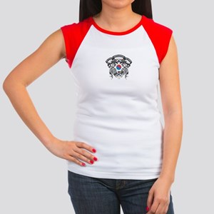 South Korea Soccer Women's Cap Sleeve T-Shirt