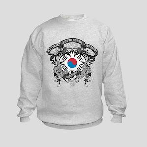 South Korea Soccer Kids Sweatshirt