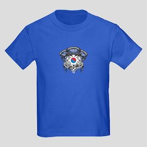 South Korea Soccer Kids Dark T-Shirt