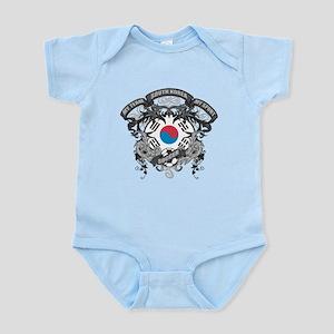 South Korea Soccer Infant Bodysuit