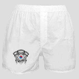 South Korea Soccer Boxer Shorts