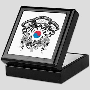 South Korea Soccer Keepsake Box