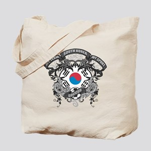 South Korea Soccer Tote Bag