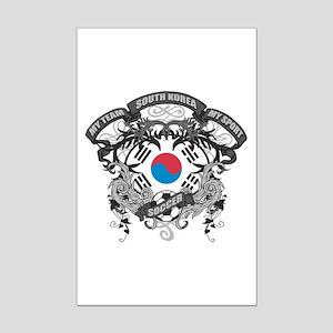 South Korea Soccer Mini Poster Print