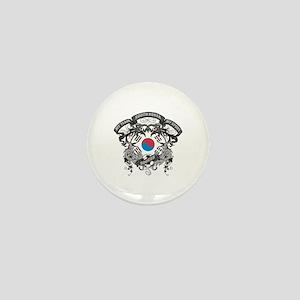 South Korea Soccer Mini Button (10 pack)