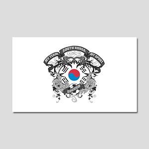 South Korea Soccer Car Magnet 20 x 12