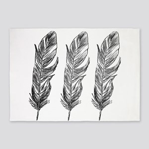 Three Feathers 5'x7'Area Rug