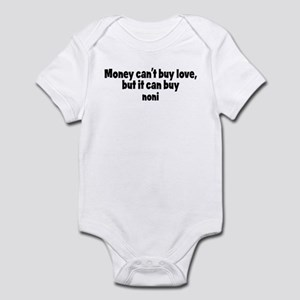 noni (money) Infant Bodysuit