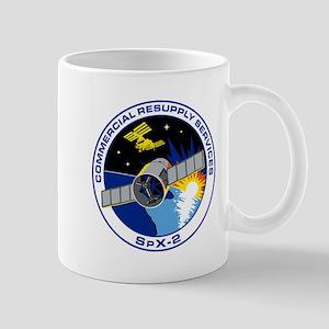 SpX-2 Logo 11 oz Ceramic Mug