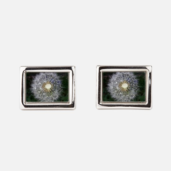 Dandelion Rectangular Cufflinks