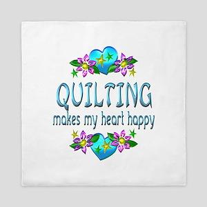 Quilting Heart Happy Queen Duvet