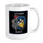 Late Knights Coalition Logo Mugs