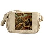 Beautiful Turtles Art Messenger Bag