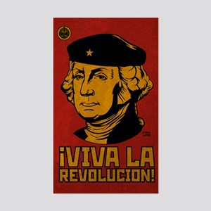 Viva La Revolucion! Rectangle Sticker