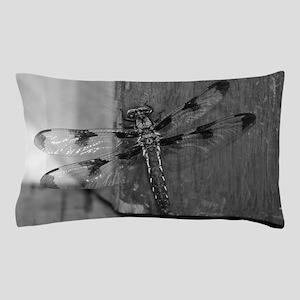 Dragonfly Black & White Pillow Case