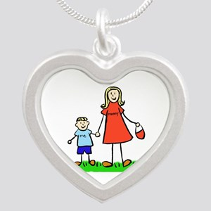 Mother and Son (Blond) Necklaces