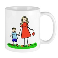 Mother and Son (Blond) Mugs
