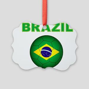 Brazil Soccer 2014 Ornament