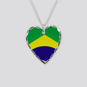 Brazil Soccer 2014 Necklace