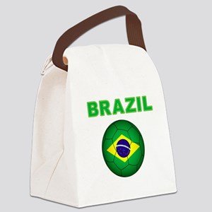 Brazil Soccer 2014 Canvas Lunch Bag