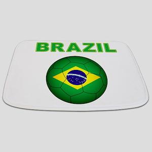 Brazil Soccer 2014 Bathmat