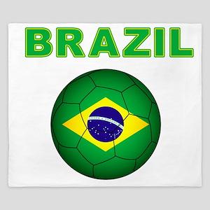 Brazil Soccer 2014 King Duvet