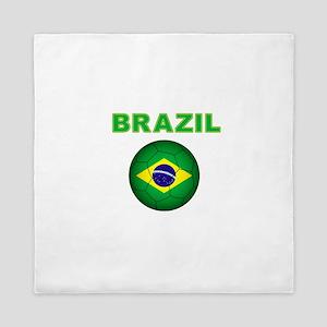 Brazil Soccer 2014 Queen Duvet