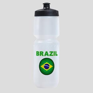 Brazil Soccer 2014 Sports Bottle