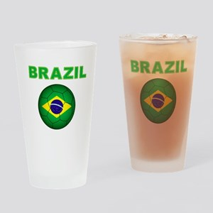 Brazil Soccer 2014 Drinking Glass