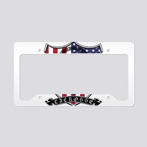 Lacrosse_Scroll_US License Plate Holder