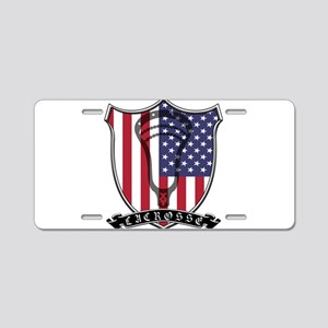 Lacrosse_Scroll_US Aluminum License Plate