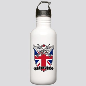 Lacrosse_Skull_UK Water Bottle