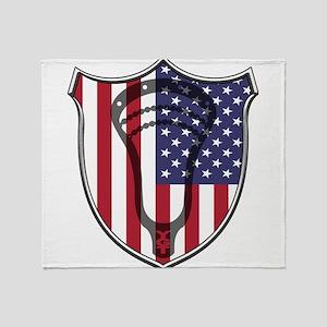 Lacrosse_Head_US Throw Blanket