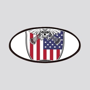 Lacrosse_Skull_US Patches