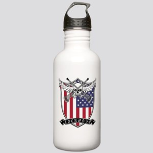 Lacrosse_Skull_US Water Bottle