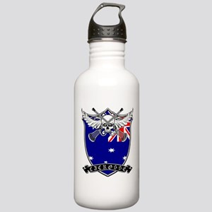 Lacrosse_Skull_AU Water Bottle