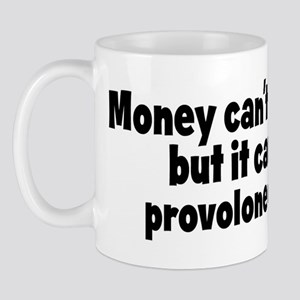 provolone cheese (money) Mug