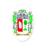 Franceschielli Oval Car Magnet