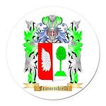 Franceschielli Round Car Magnet