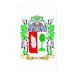 Franceschi Sticker (Rectangle 50 pk)