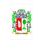 Franceschetti Sticker (Rectangle 50 pk)