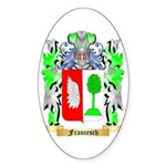 Francesch Sticker (Oval 10 pk)