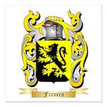 Frances Square Car Magnet 3