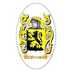 Frances Sticker (Oval 10 pk)