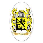 Frances Sticker (Oval 50 pk)