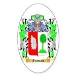 Francais Sticker (Oval)