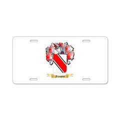 Frampton Aluminum License Plate