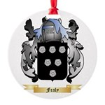 Fraly Round Ornament