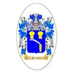 Fraker Sticker (Oval 50 pk)